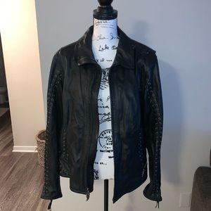 Leather Harley Davidson Jacket
